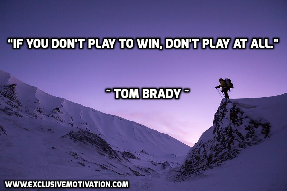 Top 12 Tom Brady Picture Quotes