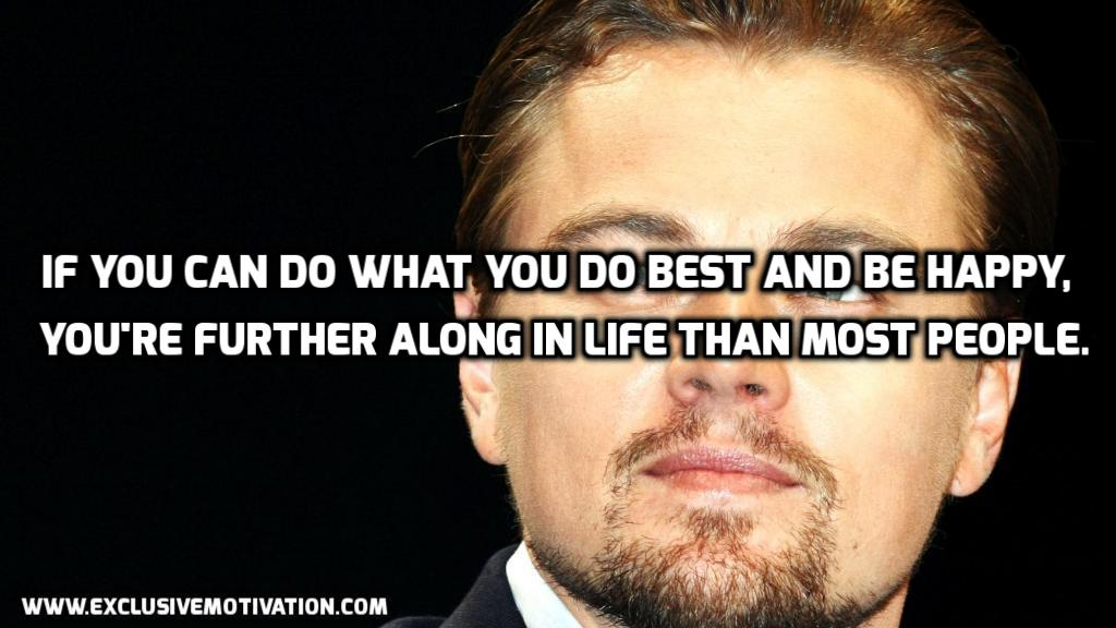 Leonardo DiCaprio Picture Quotes