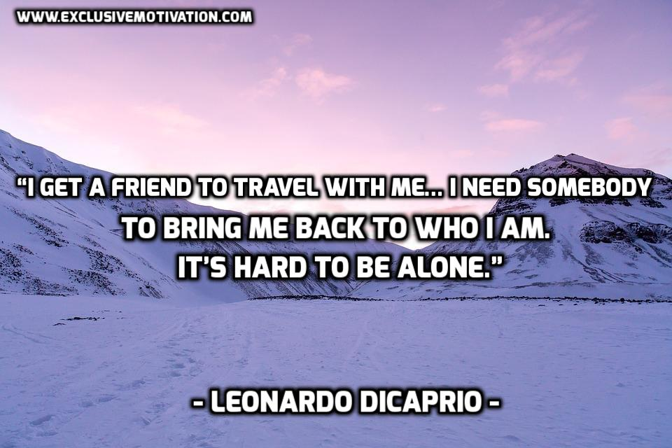 21 Awesome Leonardo DiCaprio Picture Quotes