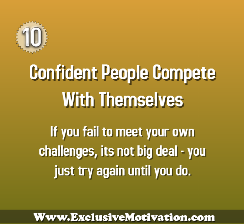 11 Habits of Confident People