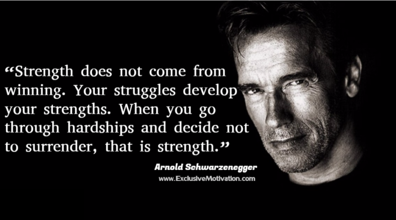 Arnold Schwarzenegger Picture Quotes