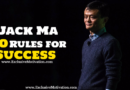 10 Jack Ma Rules for Success