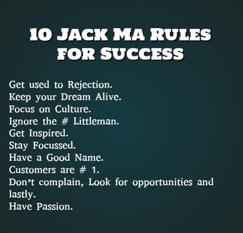 Jack Ma Rules