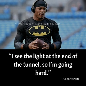 Cam Newton Picture Quotes